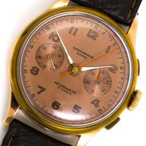 Chronographe Suisse Cie Rose gold 38mm Manual winding CSC 29445 pre-owned