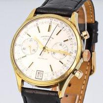 Chronographe Suisse Cie gebraucht Handaufzug 38mm Silber Plexiglas