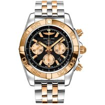 Breitling Chronomat 44 Gold/Steel 44mm Black United States of America, New York, NY