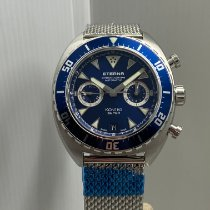 Eterna Super Kontiki Steel 45mm Blue