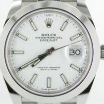 Rolex Datejust II Stahl 41mm Weiß Keine Ziffern Deutschland, Eisenach