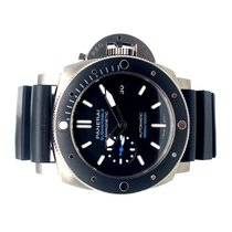 Panerai Luminor Submersible 1950 3 Days Automatic Titanium 47mm Black No numerals United States of America, California, La Jolla