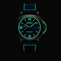 Panerai Tantalum Automatic Blue 44mm new Luminor Marina
