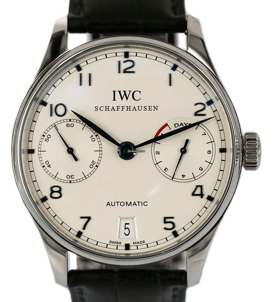 IWC Portuguese Automatic IW500107 2010 pre-owned