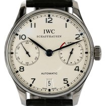 IWC Portuguese Automatic IW500107 Good Steel 42mm Automatic New Zealand, Auckland