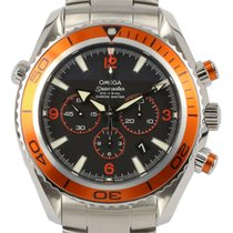 Omega Seamaster Planet Ocean Chronograph 2218.50.00 Very good Steel 45.5mm Automatic New Zealand, Auckland