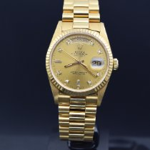 Rolex Day-Date 36 118238 Good Yellow gold 36mm Automatic Singapore