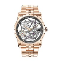 Roger Dubuis Excalibur RDDBEX0788 New Rose gold 42mm Automatic