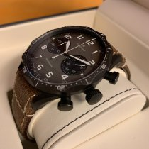 Junghans Meister Pilot Steel 43,3mm Brown Arabic numerals