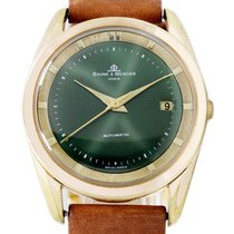 Baume & Mercier pre-owned Automatic 35mm Green Plexiglass Not water resistant