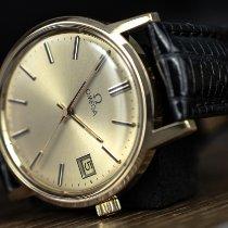 Omega Genève Gold/Steel 35mm Gold No numerals