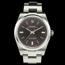 Rolex Oyster Perpetual 39 Steel 39mm Red