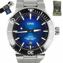 Oris Aquis Date Steel 43.5mm Blue United States of America, New York, Smithtown