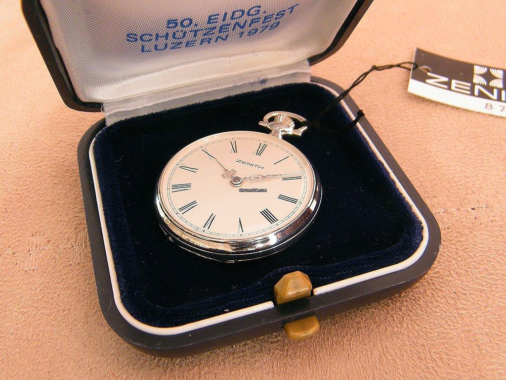 Zenith Zenith Silver Schützenuhr 1979 nieuw