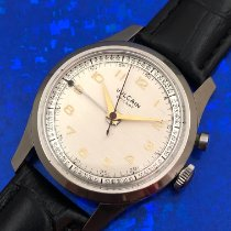 Vulcain pre-owned Manual winding 34mm Silver Plastic Not water resistant
