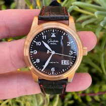 Glashütte Original Senator Navigator Panorama Date Rose gold 38mm Black United States of America, California, Los Angeles