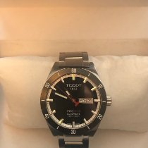 Tissot PRS 516 Steel 42mm Black No numerals United States of America, New York, Pomona