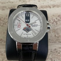 Clerc pre-owned Automatic 44 mmmm White Sapphire crystal