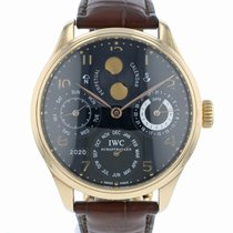 IWC IW502103 Pозовое золото Portuguese Perpetual Calendar 44.2mm подержанные