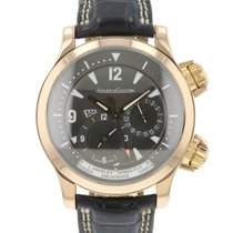 Jaeger-LeCoultre Master Compressor Geographic Rose gold 42mm Grey Arabic numerals
