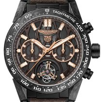 TAG Heuer Carrera Heuer-02T Titanium 45mm Brown No numerals United States of America, New York, Bellmore