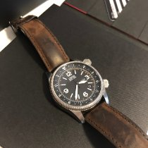 Oris Royal Flying Doctor Service Limited Edition occasion 45mm Noir Date Affichage des jours Cuir