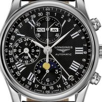 Longines Master Collection Steel 40mm Black Roman numerals