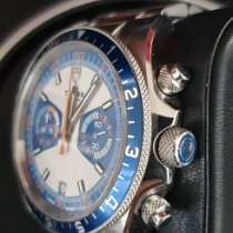 Tudor Heritage Chrono Blue pre-owned Blue Chronograph Date Steel