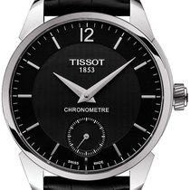 Tissot Steel 43mm Manual winding T0704061605700 new