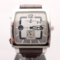 Ulysse Nardin Quadrato Dual Time Perpetual Steel 42mm Silver