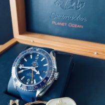Omega Seamaster Planet Ocean Acier 43.5mm Bleu Arabes France, VILLENAVE D'ORNON