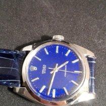Rolex Oyster Precision Acciaio 34mm Blu Senza numeri Italia, coccaglio