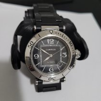Cartier Pasha Seatimer Steel Black Arabic numerals United States of America, Nevada, Henderson, NV