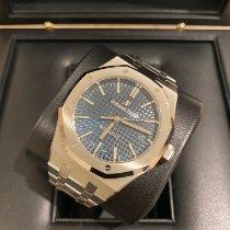 Audemars Piguet Royal Oak Selfwinding neu 2020 Automatik Uhr mit Original-Box und Original-Papieren 15450ST.OO.1256ST.03