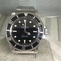 Rolex Submariner (No Date) Steel 40mm Black No numerals United Kingdom, London Colney Hertfordshire