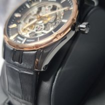 Edox Grand Ocean Carbon Black No numerals