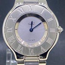 Cartier 21 Must de Cartier Сталь 31mm Cерый Римские