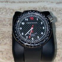 Giuliano Mazzuoli Carbon Automatic Black Arabic numerals 45mm pre-owned Manometro