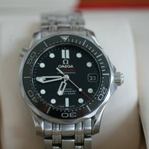 Omega Seamaster Diver 300 M Steel Black No numerals United Kingdom, WARRINGTON