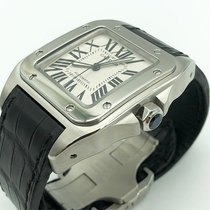 Cartier Santos 100 W20073X8 Very good Steel 38mm Automatic UAE, Abu Dhabi