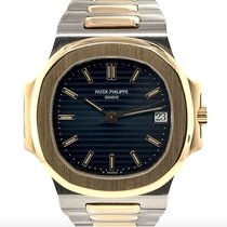 Patek Philippe 3800/1 Gold/Steel 1992 Nautilus 37mm pre-owned United States of America, New York, New York