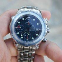 Omega Seamaster Diver 300 M Steel 41.5mm Blue No numerals United States of America, California, Lake elsinore