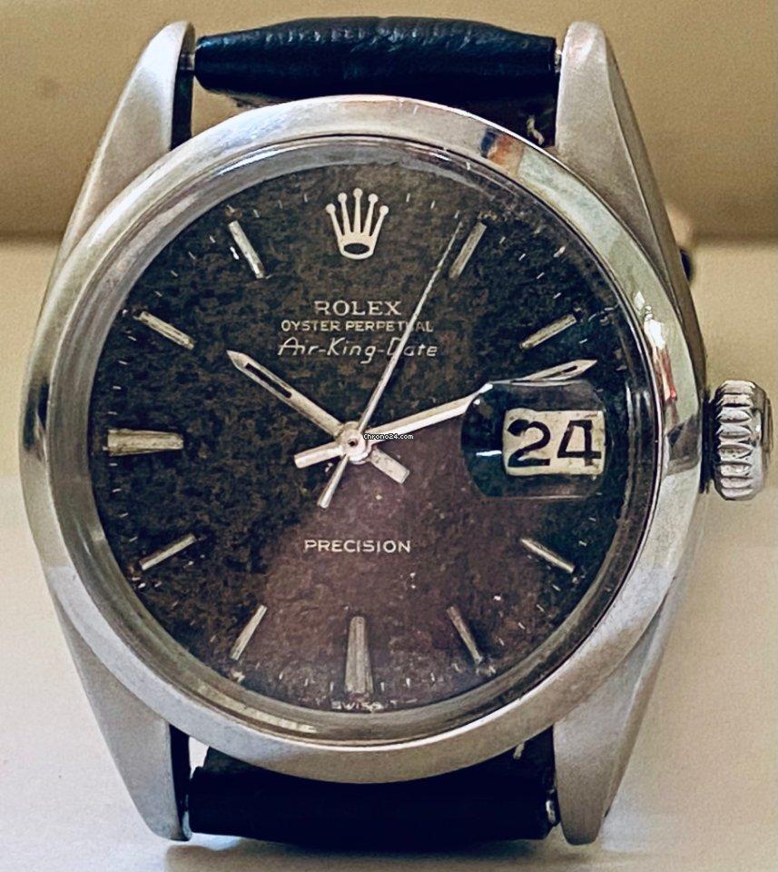 Rolex Air King Date 1500 1970 rabljen