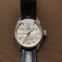 Oris Big Crown Small Second Pointer Day Acier 44mm Argent