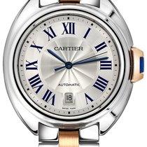 Cartier Clé de Cartier Сталь 40mm Cеребро Римские