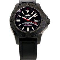 Breitling Avenger Seawolf Сталь 45mm Черный Без цифр
