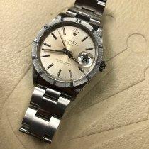 Rolex Oyster Perpetual Date подержанные 34mm Cеребро Дата Сталь