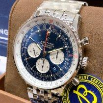 Breitling Navitimer 01 (46 MM) Stahl 46mm Blau Keine Ziffern