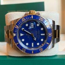 Rolex Submariner Date 116613LB Очень хорошее Золото/Cталь 40mm Автоподзавод