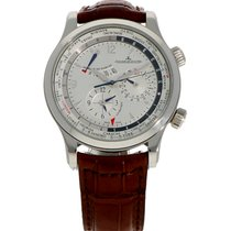 Jaeger-LeCoultre Master World Geographic Stahl 42mm Silber
